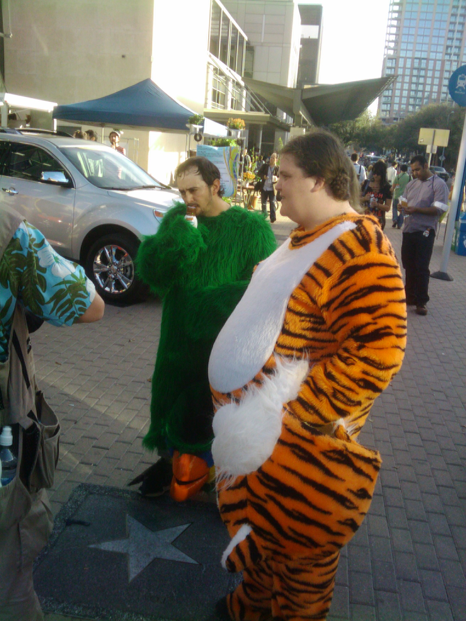 Ladies Do you love men in furry costumes?  sc 1 st  Ad+Geek : tony the tiger costumes  - Germanpascual.Com